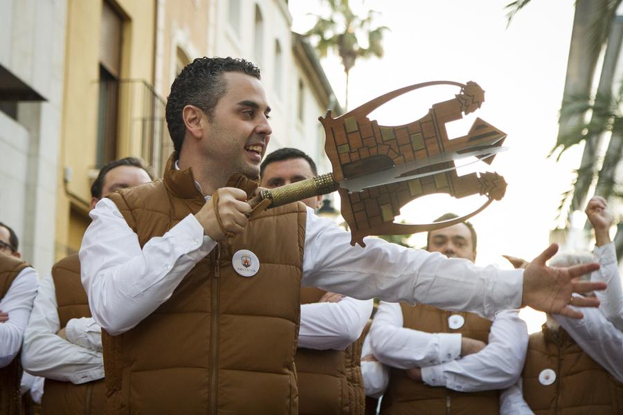 MIg Any Moros y Cristianos Ontinyent. Javier Moscardó, capitán cristiano 2017